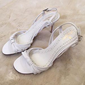 Brooks Brothers White Heels